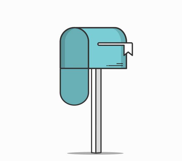 Animation Briefkasten