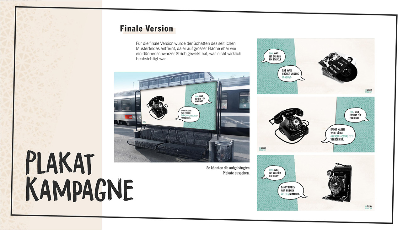Dokumentation, Seite 9: Plakat-Kampagne