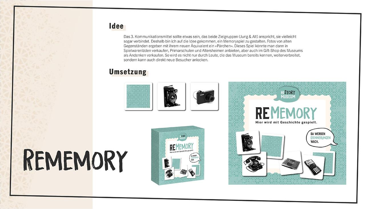 Dokumentation, Seite 10: Rememory