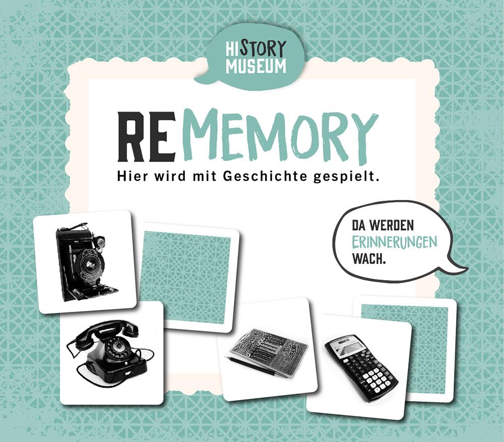 """Mockup des Giftshop-Kartenspiels """"Rememory"""""""