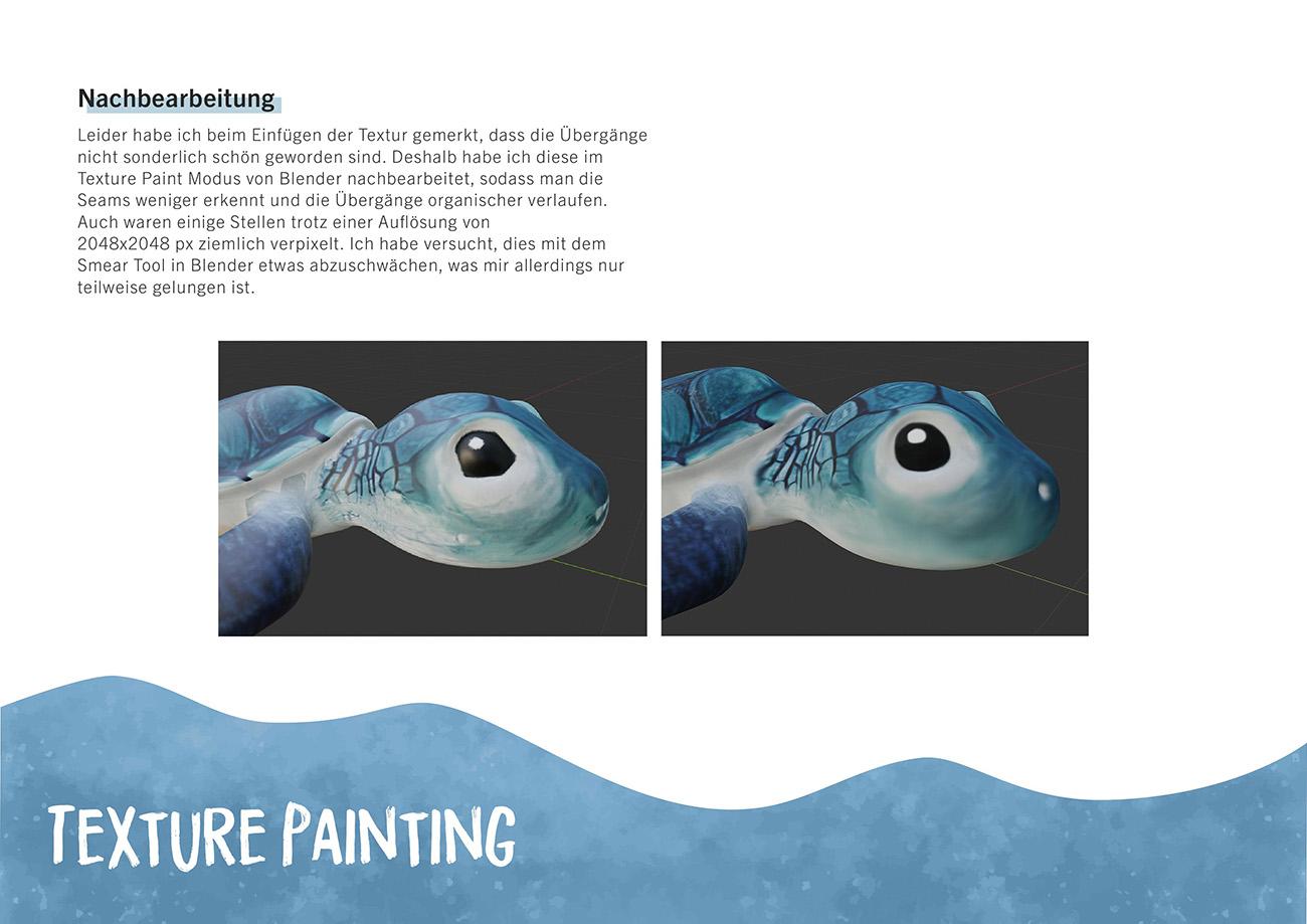 Dokumentation, Seite 7: Texture Painting