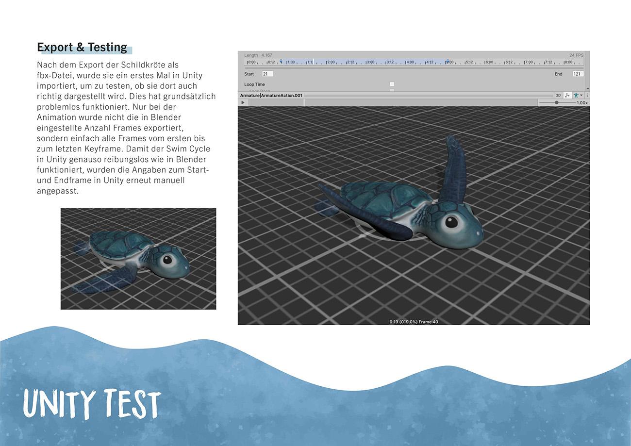 Dokumentation, Seite 9: Unity Test